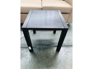 INDIAN HARDWOOD CHOCOLATE SIDE TABLE