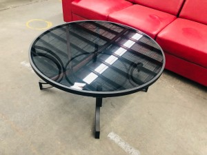MONACO BLACK COFFEE TABLE (RRP$599) (9800C)