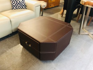 HEXAGON PU COFFEE TABLE