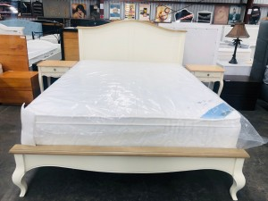 FLORENCE QUEEN BED - SOLD AS IS