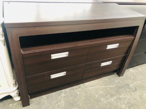 DRESSER, NO MIRROR - WALNUT TR131 (TR10)