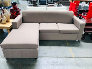 CIVIC 2 SEATER WITH CHAISE - CAN BE ON EITHER END (B6)