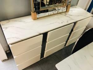 FRESNO BUFFET WHITE 1.6M RRP $1500