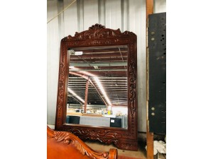ASSORTED TIMBER MIRRORS