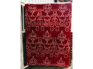 COMFORT RED SHAGGY RUG 160 X 230CM (922)