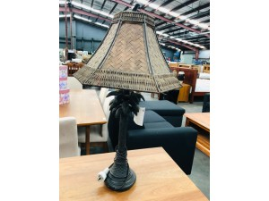 FRENCH VERDE PALM TREE LAMP