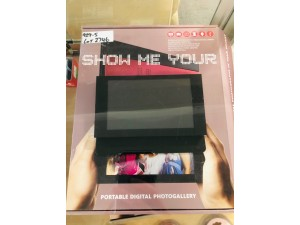DIGITAL PHOTO FRAME - RED (780041)