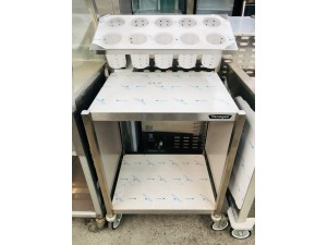 MOBILE CUTLERY & TRAY DISPENSER (CTS)