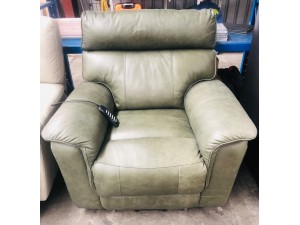 MONDO SCOTLAND BOTIGLIA LEATHER ELECTRIC BACK LIFT CHAIR ($2640) #027-14-10-20