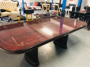 OVAL EXTENSION DINING/BOARDROOM TABLE - TABLE ONLY