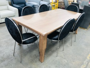 MONTROSE 2100MM DINING TABLE (FA390T2) FACTORY SECOND