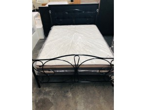 CHRISTINA METAL DOUBLE BED SOLD AS IS