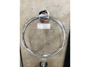 BRASS & ZINC ROUND TOWEL HOLDER (BI-2460)