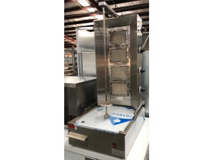 4 BURNER GAS KEBAB MACHINE 534X700X1015