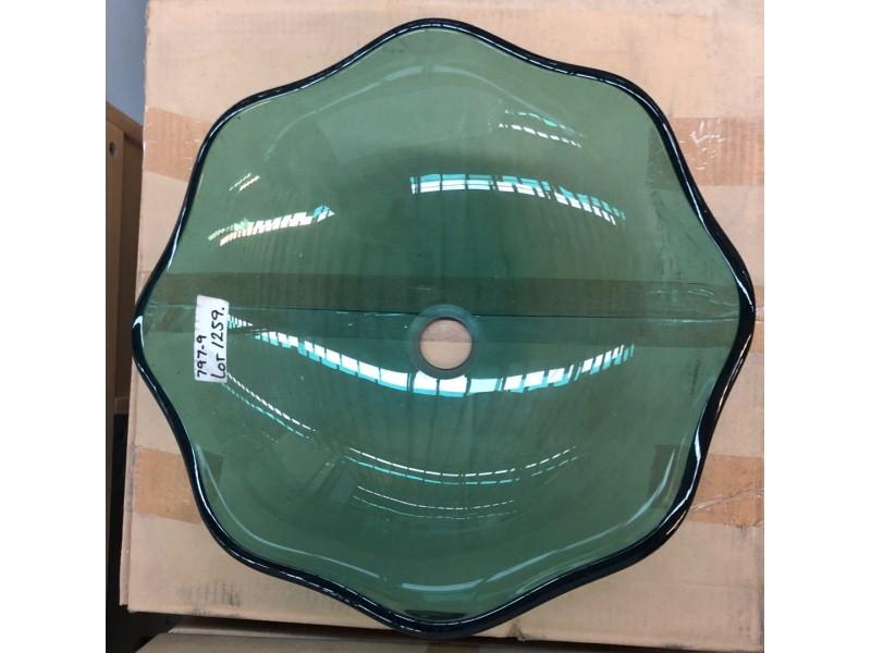 GLASS VANITY BOWL DROP IN #FA-092