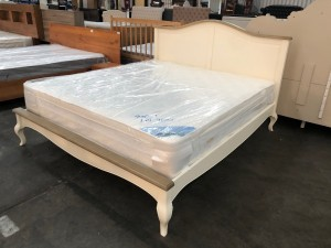 FLORENCE KING BED - IVORY