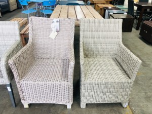ASSORTED WICKER CHAIRS
