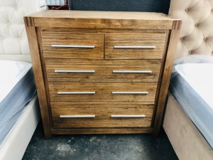 MIRAGE FIVE DRAWER TALLBOY