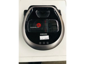 SAMSUNG VACUUM POWERBOT PLUS ROBOT VACUUM MODEL:VR20M7070WS - FACTORY SECOND - INCLUDES 30 DAY WARRANTY FROM DATE OF PURCHASE SN:98842