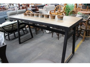 DURHAM BAR TABLE (RRP$1400) (SM-WF1100) (N)