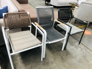 SHELTA AUSTRALIA ASSORTED ROPE OUTDOOR CHAIRS