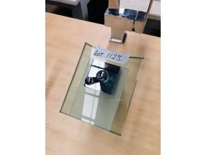 SQUARE GLASS VANITY MIXER #CP-70008 (BI-BM5105)
