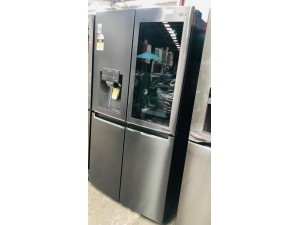 LG 910 LITRE INSTA VIEW FRIDGE PRODUCT# GF-V910MBSL SERIAL# 1000092337 DISPATCH# 20201130 (RRP $4,998) WATER FILTER IN OFFICE