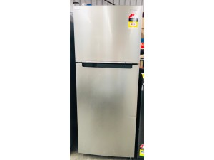 SAMSUNG 471 LITRE STAINLESS STEEL FRIDGE (MODEL:SR471LSTC) - MISSING FREEZER SHELF - SOLD AS IS - COMES WITH 30 DAYS WARRANTY FROM THE DATE OF PURCHASE SN:105150