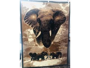 ALLURE ELEPHANT SCENE RUG 1.6 X 2.15M