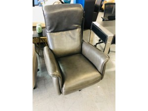 LORENZ POWER RECLINER DUAL MOTOR MALLORCA GREY RRP $1800 - BRAND NEW CLEARANCE STOCK SOLD AS IS (1-899534 SN-63826151001)