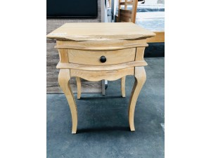 ONTARIO BEDSIDE TABLE DAMAGED (OAK) #AU0461