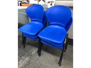 VISITOR CHAIR - BLUE (V09) (N)