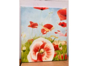 SMALL CANVAS PAINTED PRINT
