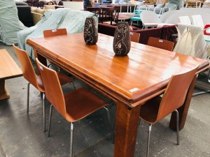 JAMES 1.8 METRE DINING TABLE
