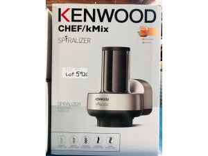 SPIRALISER ATTACHMENT FOR KENWOOD CHEF KMIX - NEW IN BOX