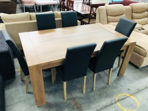 BRONTE SEVEN (7) PIECE DINING SET