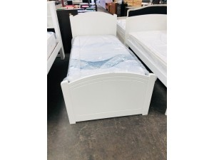 MACEDON SINGLE BED ARCTIC (SOLD AS IS)