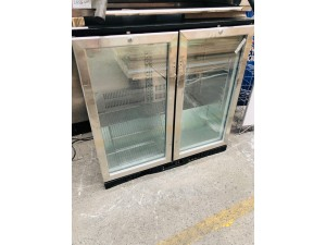 2 DOOR BAR FRIDGE - SOLD AS IS