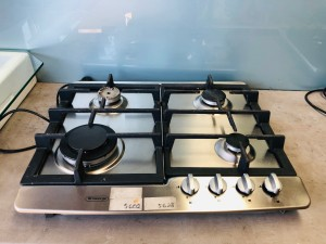 ST GEORGE 60CM 4 BURNER NATURAL GAS COOKTOP MODEL-5566010 (ALL FLOOR STOCK)