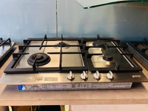 ST GEORGE 70CM 4 BURNER NATURAL GAS COOKTOP MODEL-5667100 (ALL FLOOR MODEL) RRP$1999