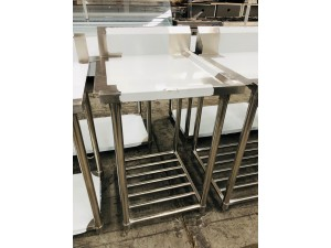 S/S BENCH DISHWASHER LEFT SIDE OUTLET 600X700X900 (WBBD7-0600L/A)