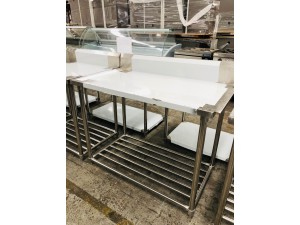 S/S BENCH DISHWASHER RIGHT SIDE OUTLET 1200X700X900 (WBBD7-1200R/A)