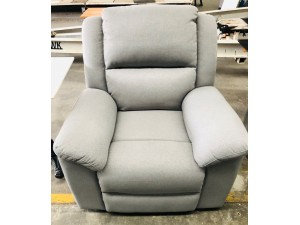 GRIFFIN WINSLOW GRAPHITE FABRIC 1 SEATER RECLINER