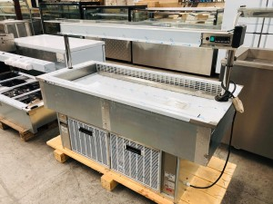 DROP-IN REFRIGERATED WELL WITH GLASS SCREEN (D4RFST)