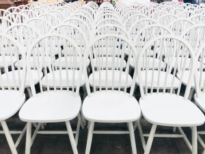 WILLOW GREY CHAIRS SOLD AS IS