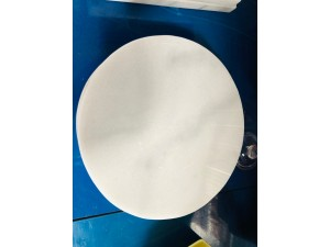 CHEESE BOARD - WHITE MARBLE DIAMETER 20CM
