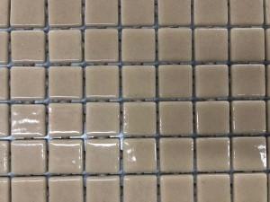 POOL MOSAICS TAN (101) 31CMX39CM/SHEET (SOLD PER BOX - 16 PER BOX - 2SQM/BOX) MADE IN SPAIN