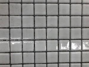POOL MOSAICS WHITE (203) 31CMX39CM/SHEET (SOLD PER BOX - 16 SHEETS/BOX - 2SQM/BOX) MADE IN SPAIN