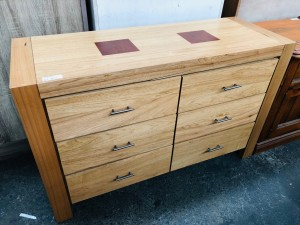 SARATOGA DRESSING TABLE - MINOR DAMAGE TO FRONT