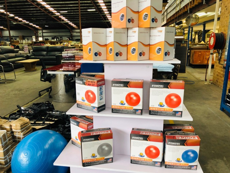 FITNESS GYM BALL IN SIZE 55 65 & 75